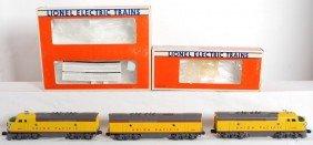 Lionel Union Pacific F3 A-B-A 8480 8481