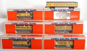 7: Lionel Union Pacific 9545 9546 9547 9548 9549 7210