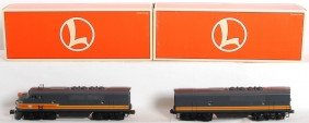 13: Lionel Milwaukee Road F3 A-B with TMCC