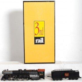 21: 3rd Rail Burlington O-5 steam loco with TMCC