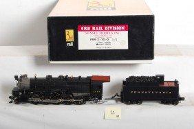 23: 3rd Rail Pennsylvania 2-10-0 steam locomotive