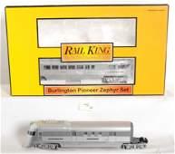 46: MTH Railking Burlington Pioneer zephyr