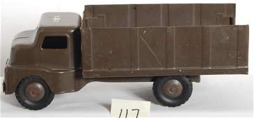 117 Structo pressed steel army truck