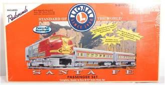 174: Lionel 21973 Santa Fe passenger set sealed