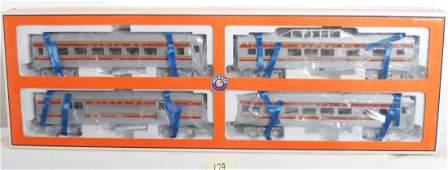 179: Lionel 29051 Santa Fe passenger set
