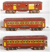 417 Lionel prewar 1766 1767 1768 passenger cars