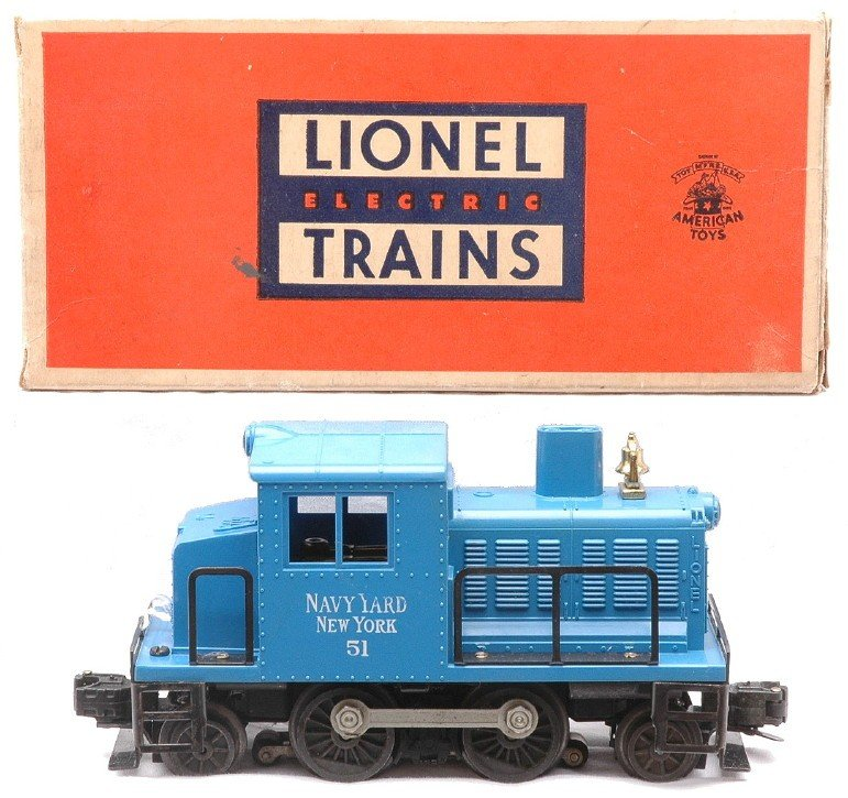 4: Lionel 51 Navy Yard New York Switcher LN OB