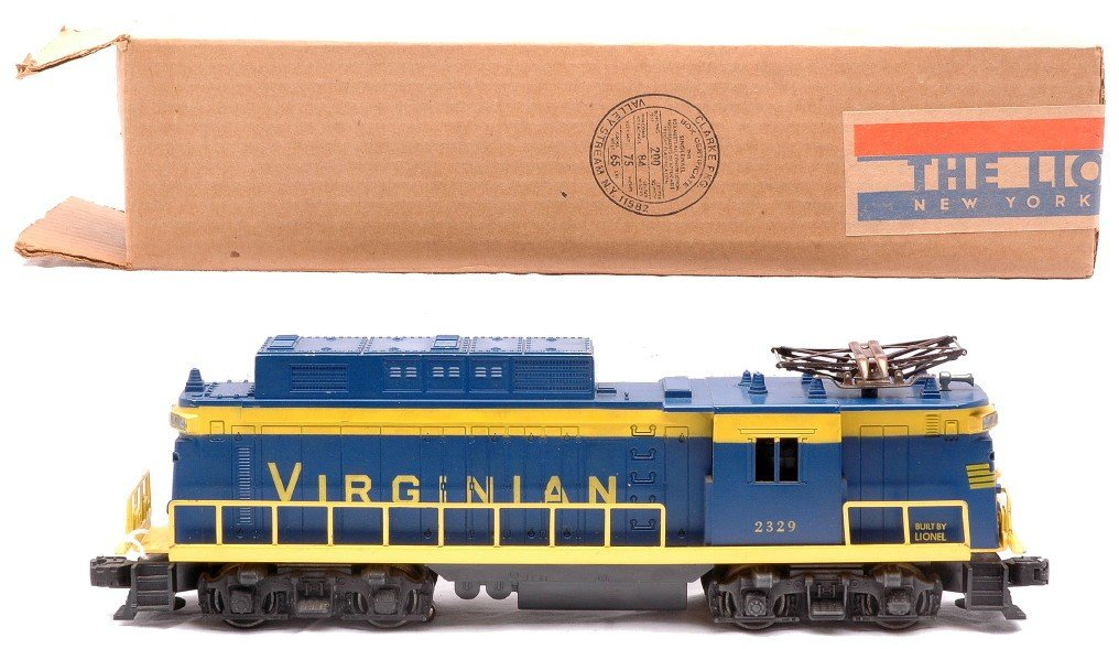 13: Lionel Postwar 2329 Virginian E-33 Electric Loco