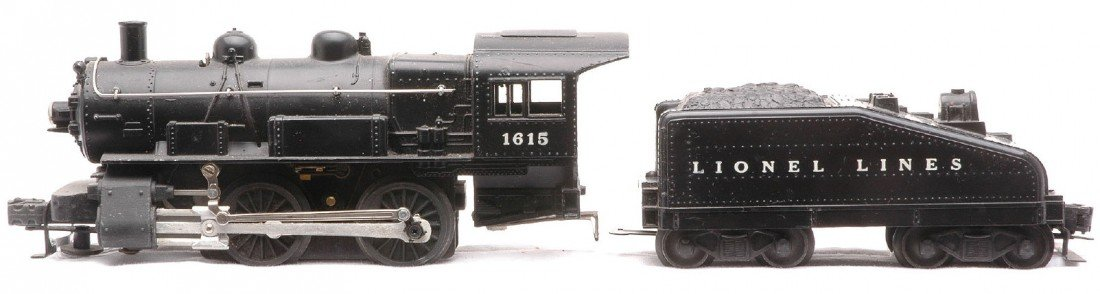 19: Lionel 1615 Steam loco 1615T Slope-back Tender