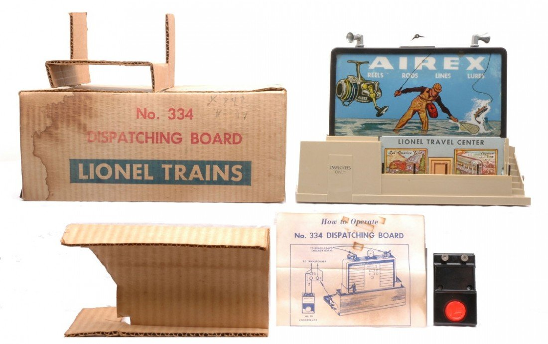 21: Lionel Postwar 334 Dispatching Board Boxed