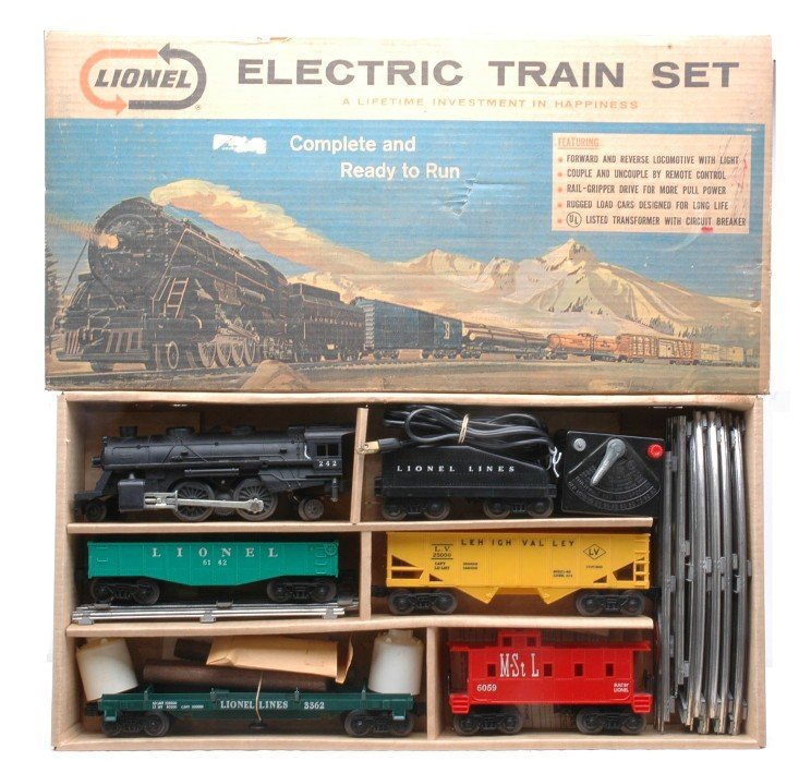 22: Lionel Freight Set no. 11520 Boxed LIKE NEW OB