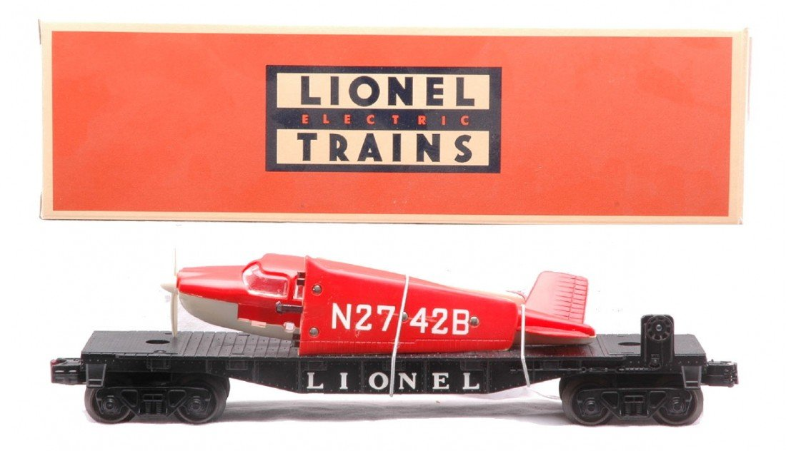 23: Lionel 6500 Beechcraft Bonanza Transport Car
