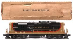 109: Lionel 2349 Northern Pacific GP9 Diesel OB