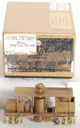 1606: Northwest Short Line 13 ton Shay with vertical bo