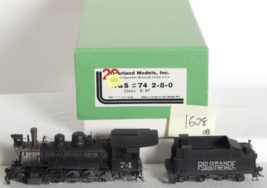 1608: Overland Models Rio Grande Sn3 2-8-0