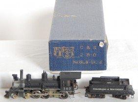HOn3 C&S 4-6-0 Locomotive