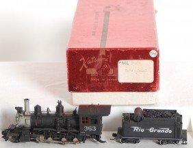 1616: Custom Brass Rio GrandeC-21 steam locomotive