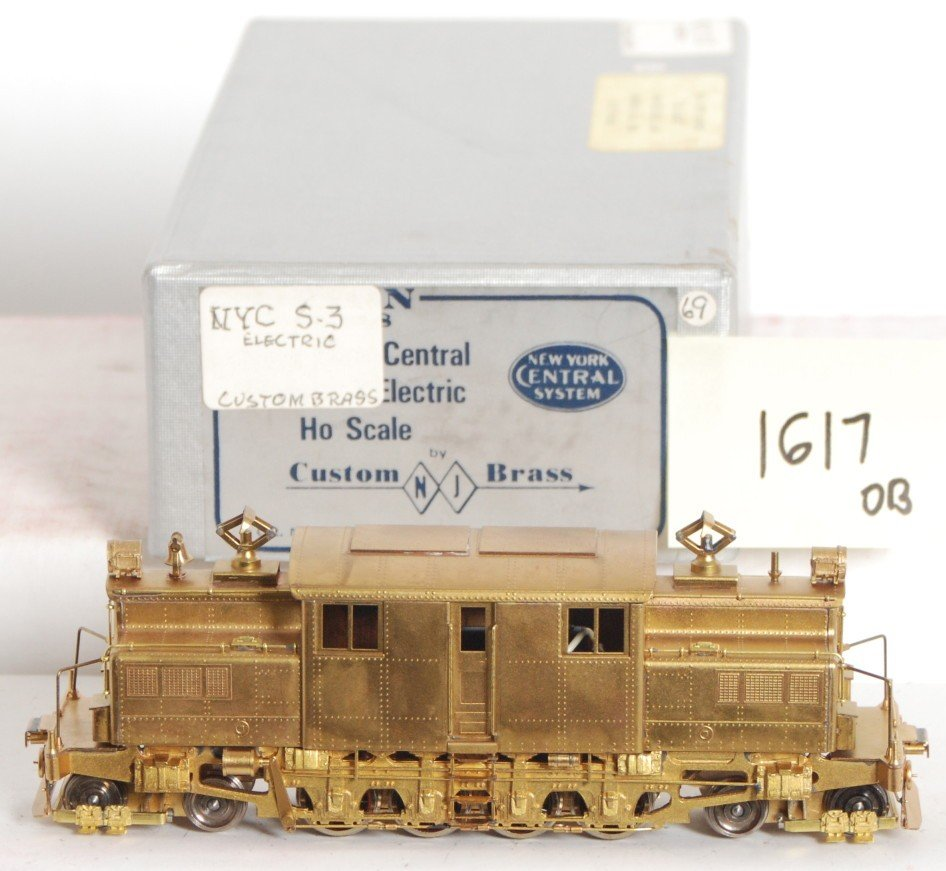 1617: New York Central HO brass S3 electric by NJ Custo
