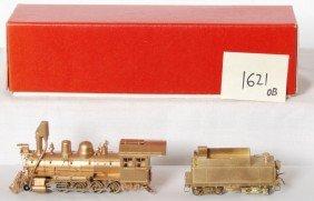 1621: HOn3 brass 2-8-0 C&S steam locomotive