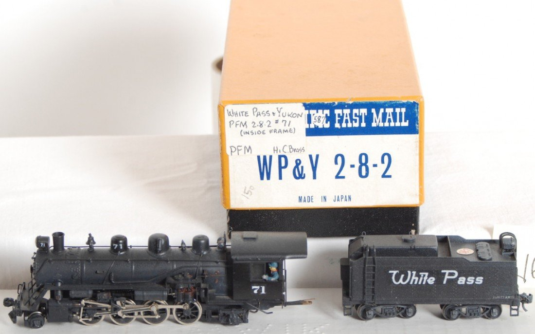 1623: Pacific Fast Mail White Pass 2-8-2