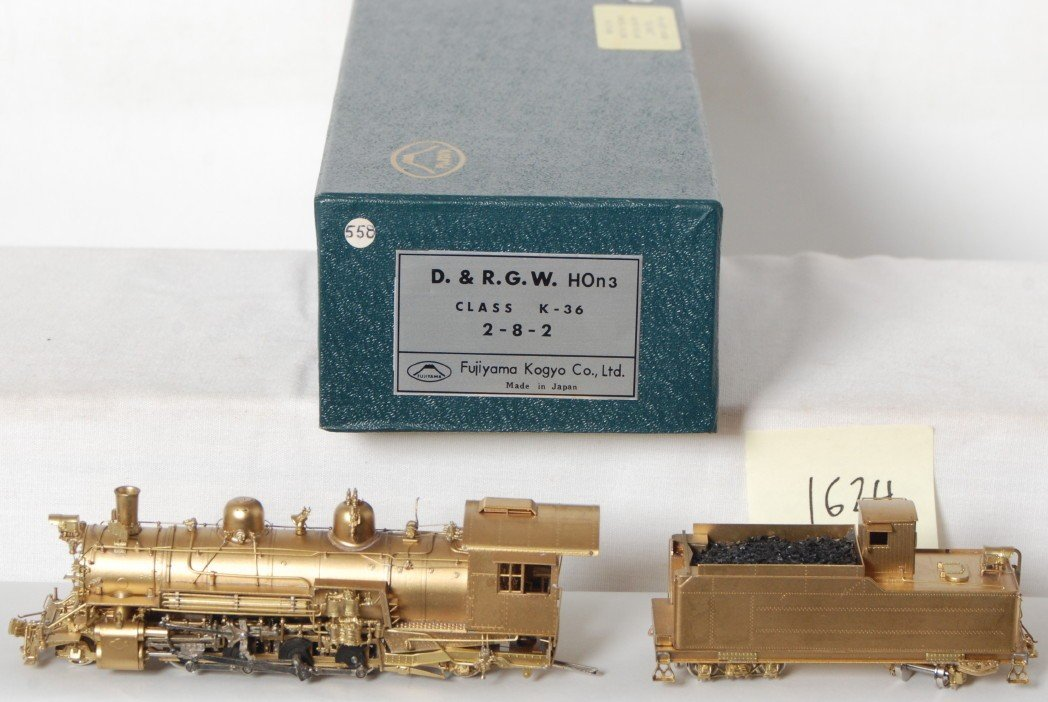 1624: Fujiyama D&RGW K36 steam locomotive