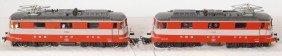 1848: 2 Marklin HO SBB 11103 electric locomotives