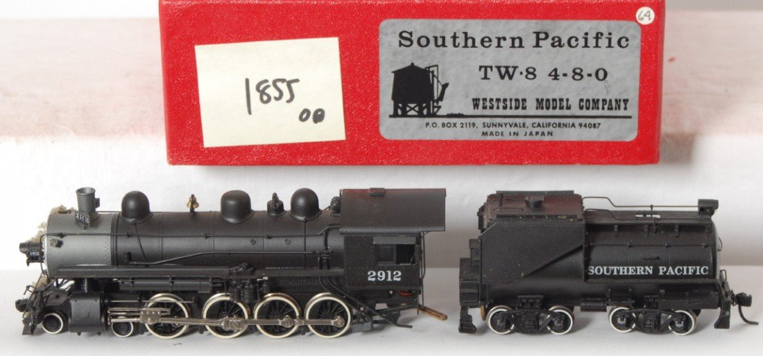 1855: Westside Southern Pacific TW-8 4-8-0 loco