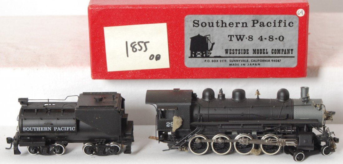 1855: Westside Southern Pacific TW-8 4-8-0 loco - 2