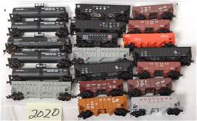 2020 20 hopper and tank cars Southern Reading etc