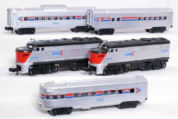 2001: Lionel Amtrak set 8903 8904 16013 16014 16015