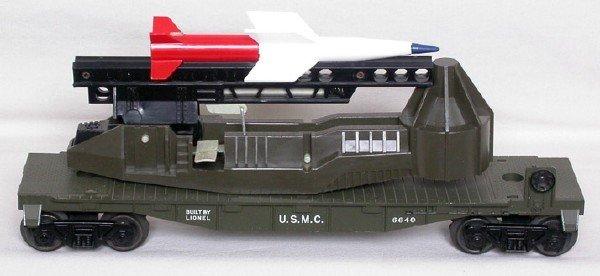 2002: Unrun Lionel 6640 USMC olive launcher