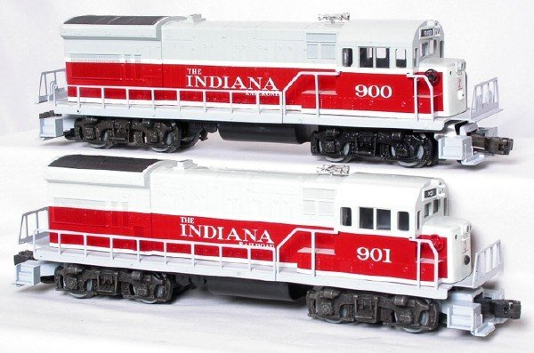 2003: Custom Lionel INRD Indiana U36B pwd/dmy set