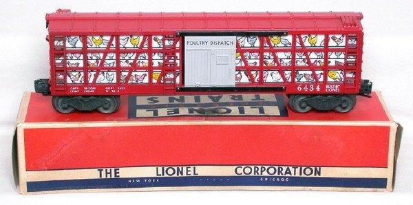2004: Unrun Lionel 6434 poultry dispatch car, OB