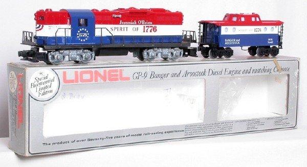 2009: Lionel 8665 Bangor Aroostook Bicentennial GP9