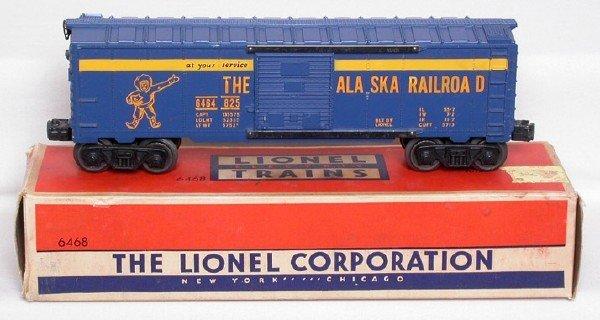 2016: Lionel 6464-825 Alaska boxcar