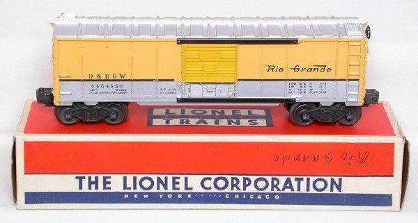 2022: Lionel 6464-650 Rio Grande boxcar, OB