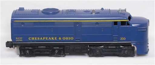 2272 Lionel 230 Chesapeake And Ohio Alco Fa Diesel