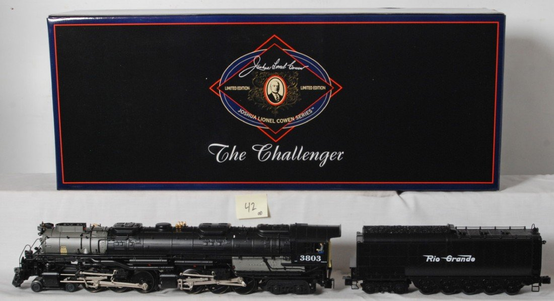 42: Lionel JLC D&RG Challenger with TMCC