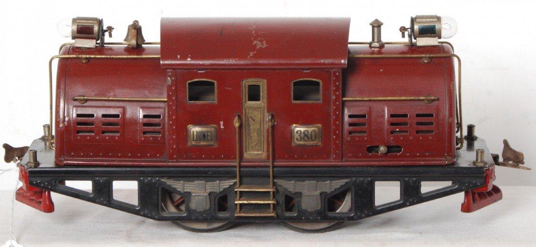 811: Lionel 380 standard gauge electric locomotive
