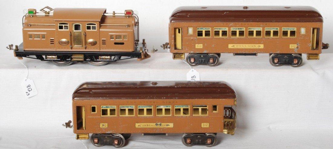 812: Lionel 318E restored with 309 and 312 original
