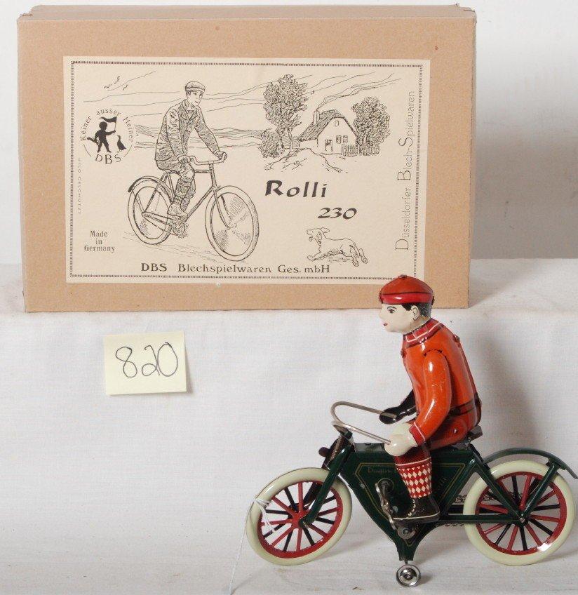 820: DBS Blechspielwaren Ges. mbH Rolli 230 bicycle in