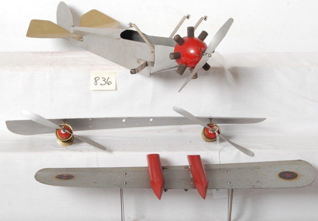 836: A.C. Gilbert New Erector tri-power sea plane