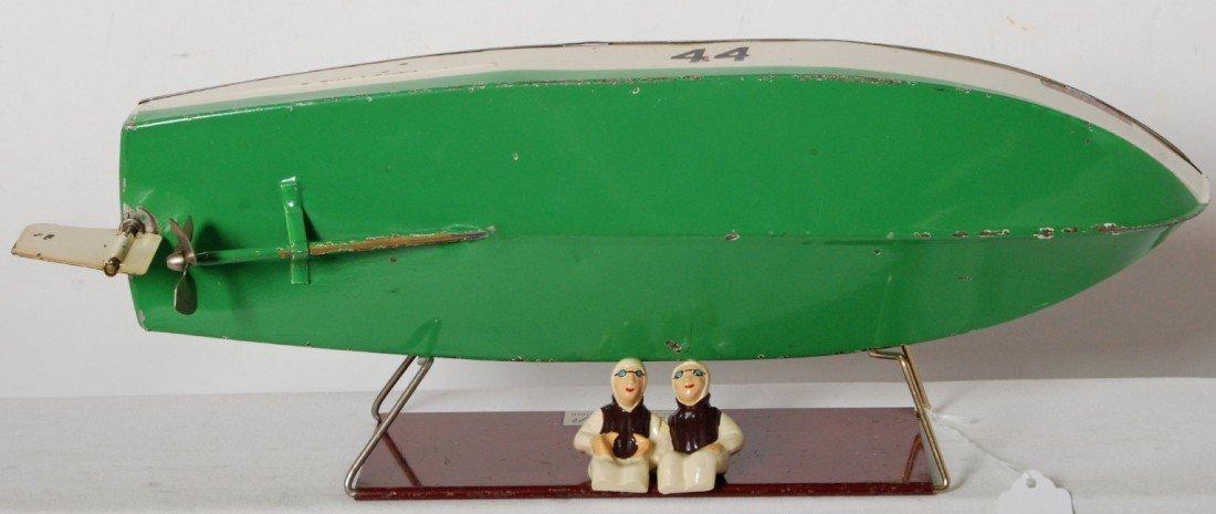 1151: Lionel No. 44 Lionel-Craft speed boat on base - 3