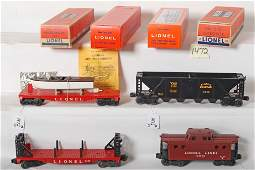 1472: Lionel 6636, 6467, 6501, 6417-25 unrun in OB
