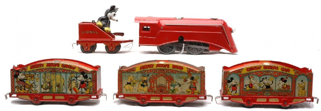 969: Lionel The Mickey Mouse Circus Train Set no. 1536