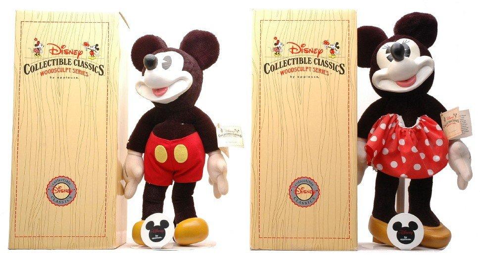 978: Disney Collectible Classics WoodSculpt Series MIB