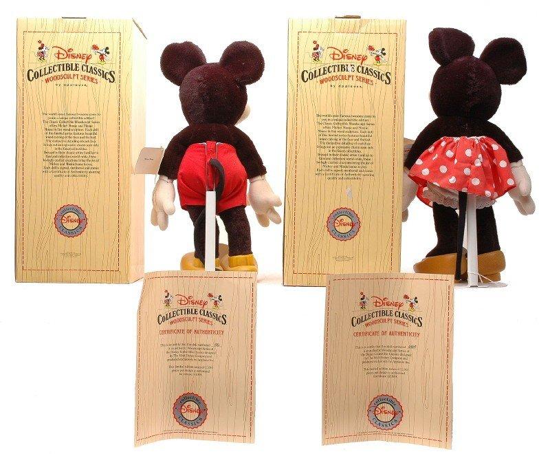 978: Disney Collectible Classics WoodSculpt Series MIB - 2