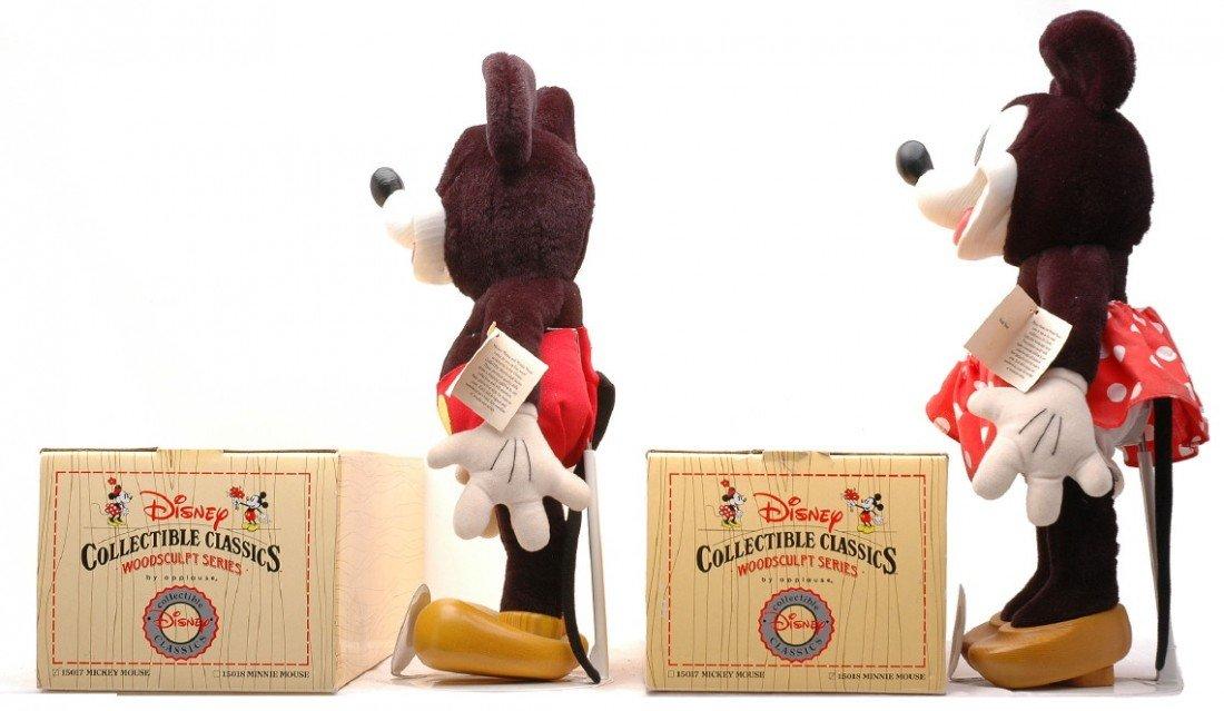 978: Disney Collectible Classics WoodSculpt Series MIB - 3