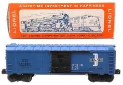 1206: Lionel 6464-475 B&M Type IV Boxcar MINT OB