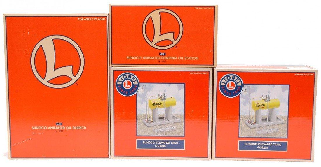 2: Lionel Sunoco Accessories 12944 12945 2-24218 MIB